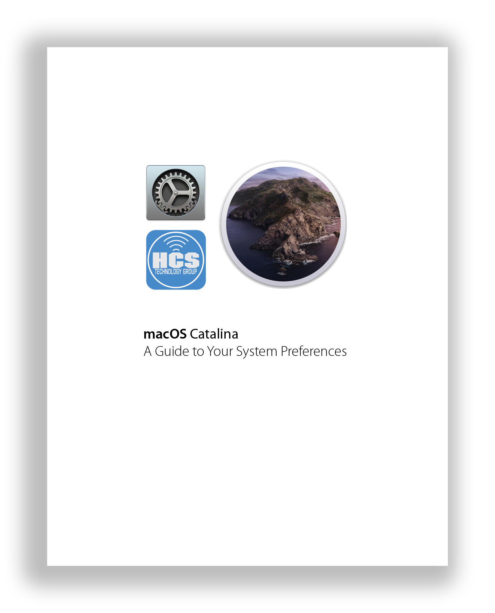 System Preferences Catalina Cover
