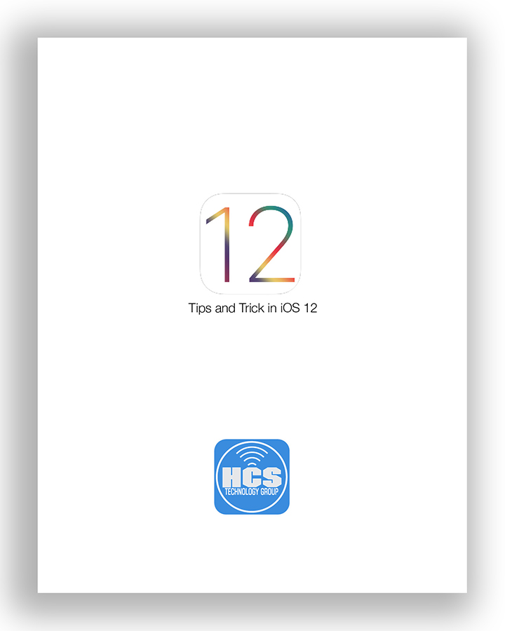 Tips and Tricks iOS 12 cover