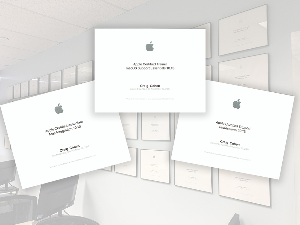 HCS Technology Group - Apple Authorized Training & Certifications ...