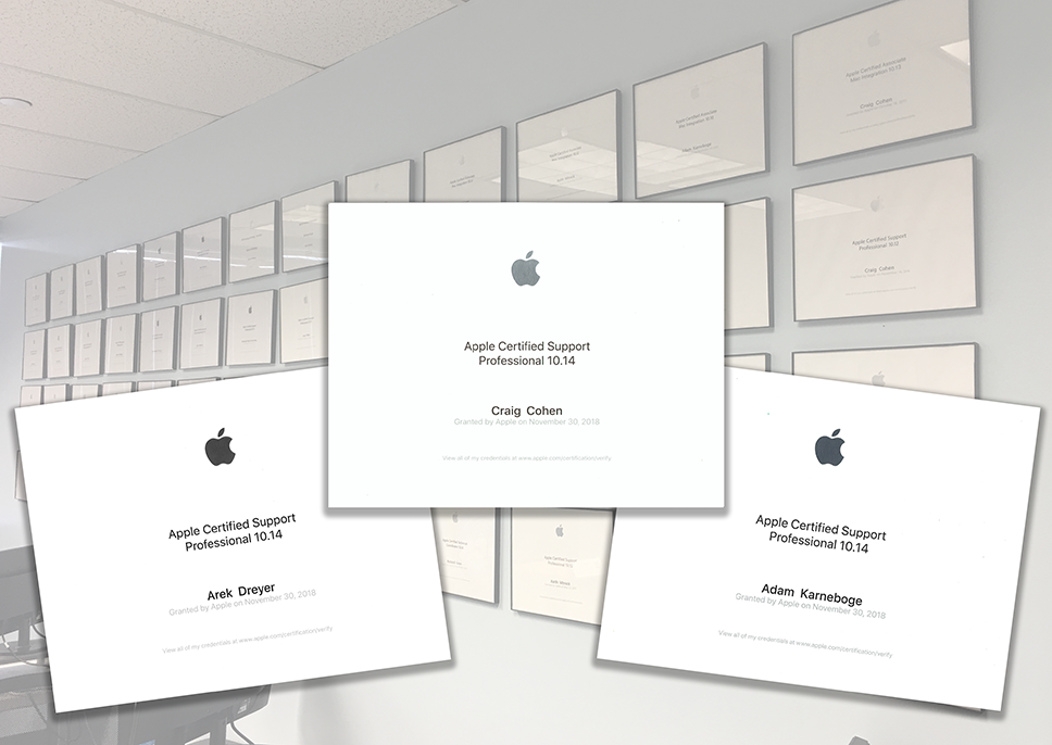 Hcs Technology Group Apple Authorized Training Certifications